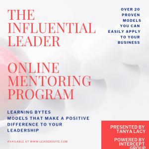 The Influential Leader Online Mentoring Program